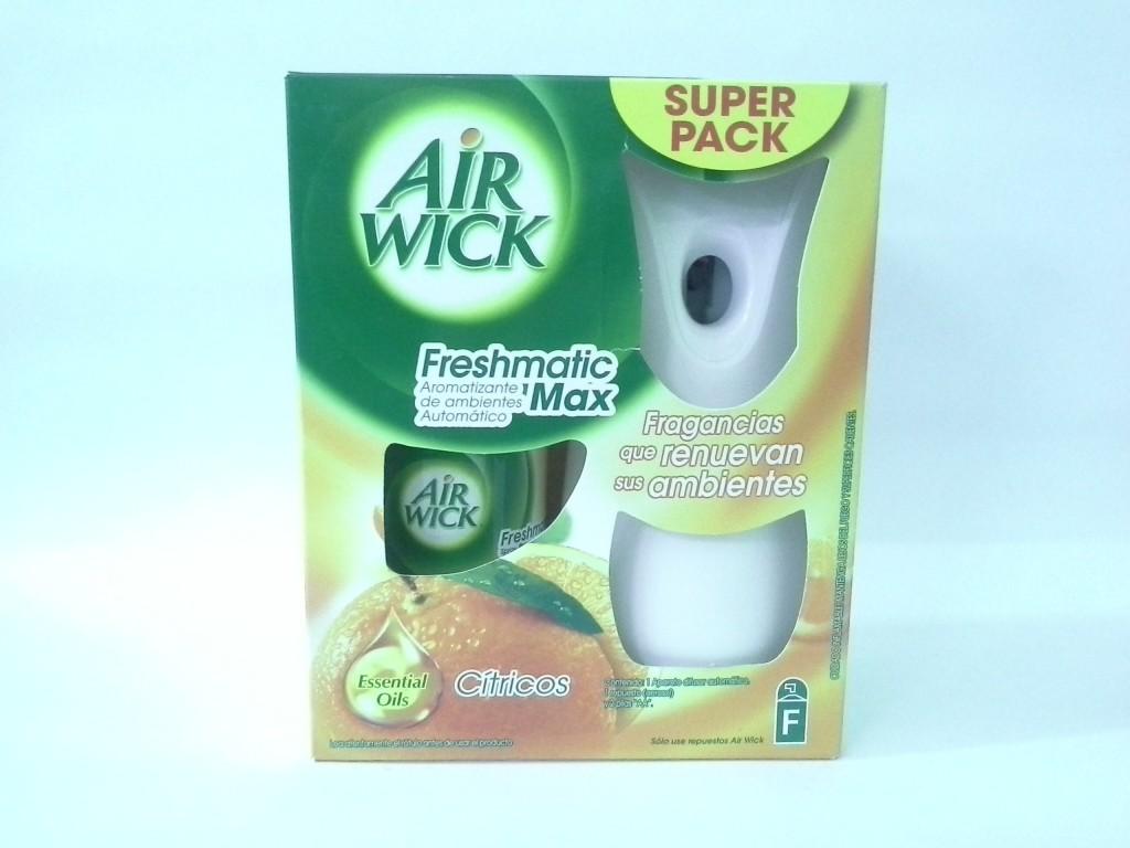 Dispensador mas recarga Desodorante ambiental