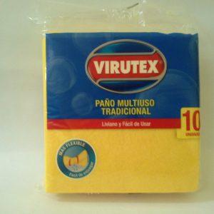 Paño Limpiador Multiuso Virutex por 10 unidades