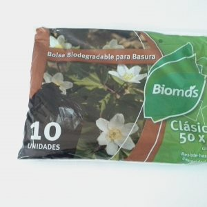 Bolsa basura Biodegradable 50x70