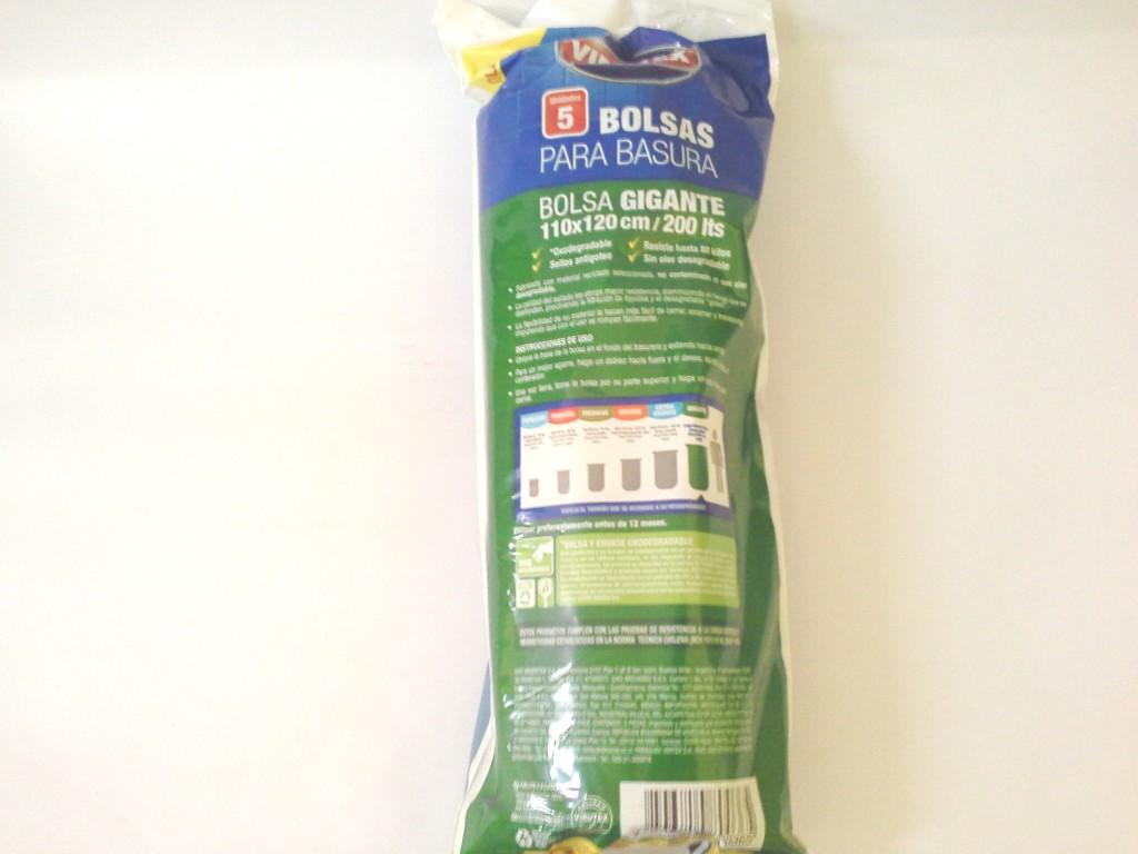 Bolsa Basura Virutex 110x120
