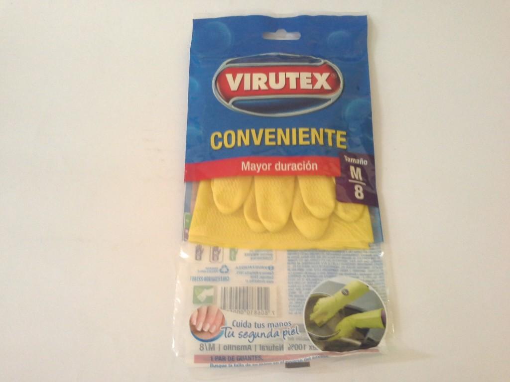 Guante cocina superior amarillo