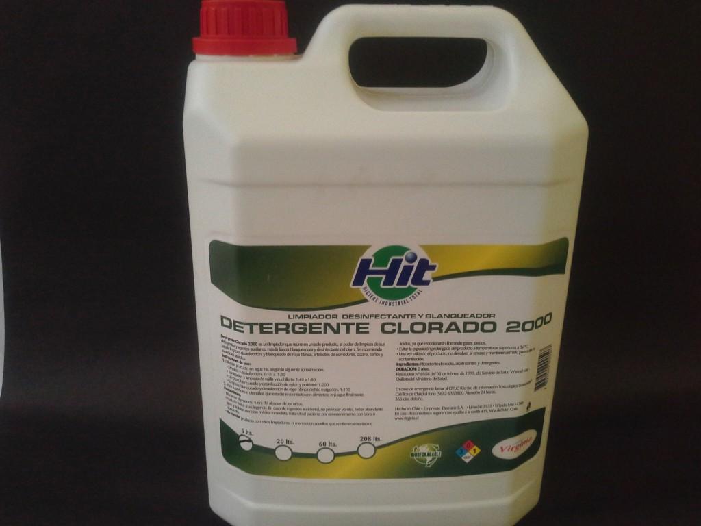 Detergente Clorado 5 lts