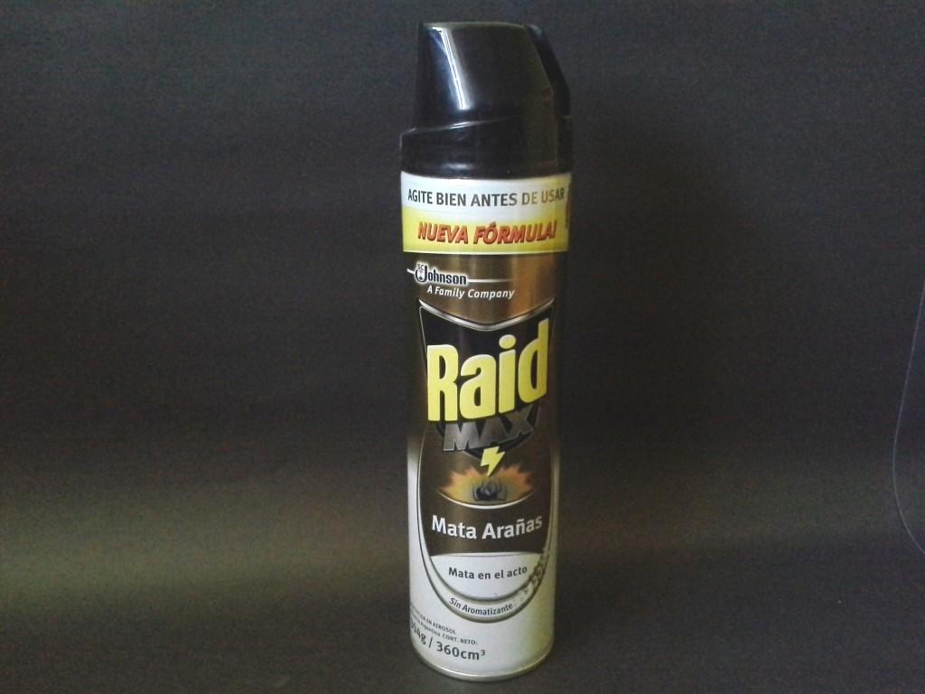 Raid mata arañas
