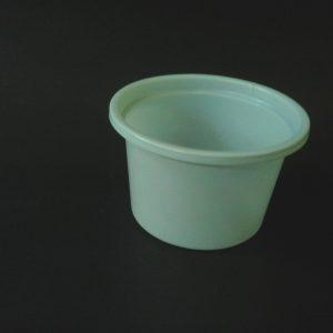 Vaso plastico 90 cc blanco