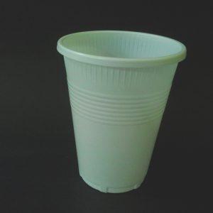 Vaso plastico 300 blanco
